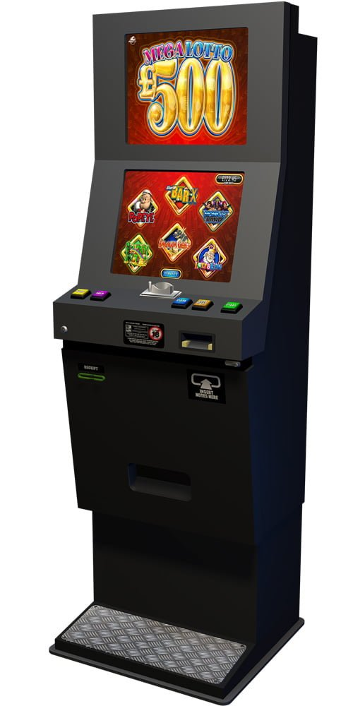 Lottery terminal machines