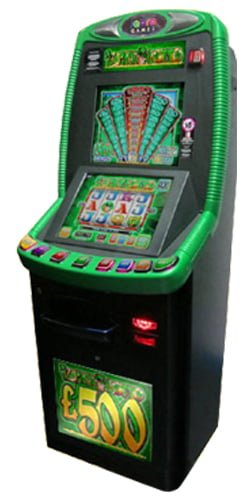Green B3a Lottery terminal machines