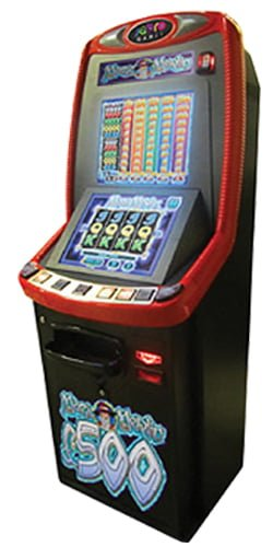 Red B3a Lottery terminal machines