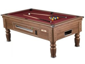 supreme prince walnut pooltable