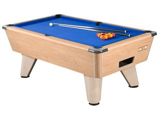 Supreme Winner Oak pooltable