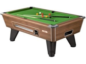 supreme winner walnut pooltable