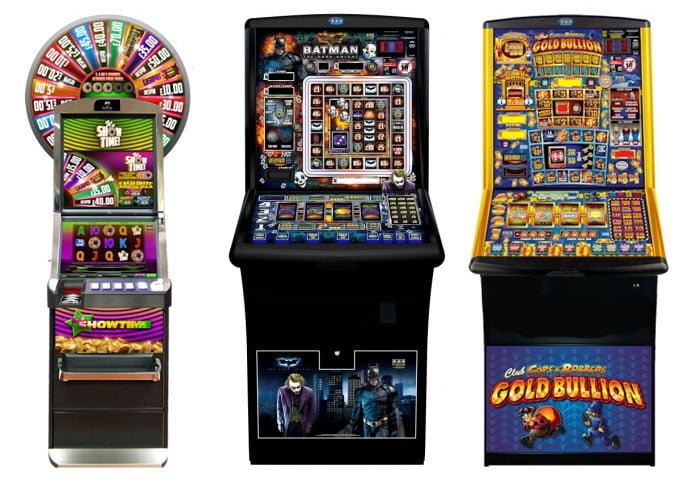 Fruit machines for clubs